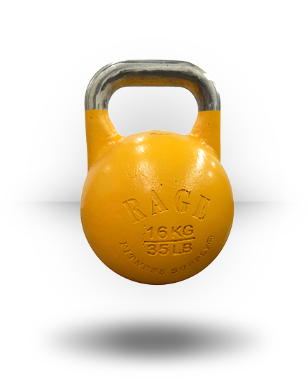 Rage Fitness Rage Competition Kettlebell 16 kg Yellow