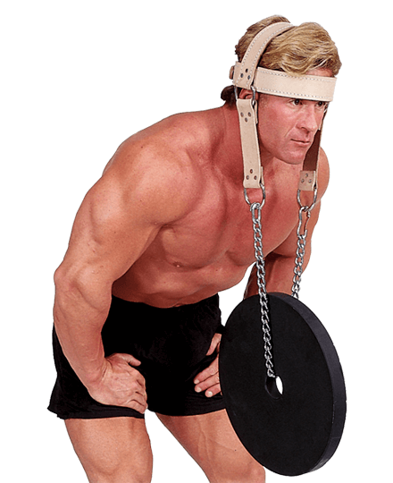 Body-Solid Leather Head Harness