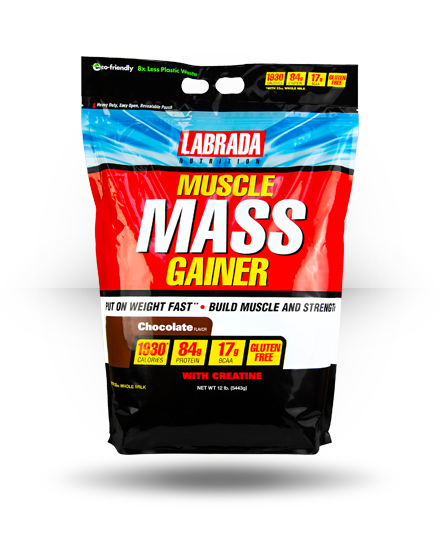 Labrada Nutrition Muscle Mass Gainer Chocolate 12 lb