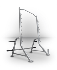 Bodycraft Squat Rack with Bar and Plate Storage