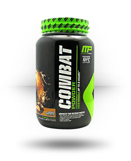 MusclePharm Hybrid Series Combat Powder Chocolate Peanut Butte