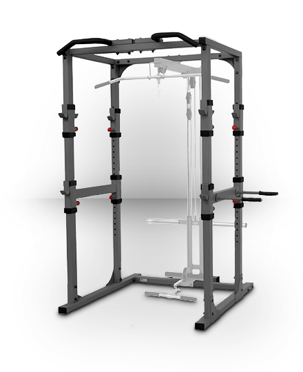 XMark Fitness XMark Power Cage with Dip Station and Pull-up Bar
