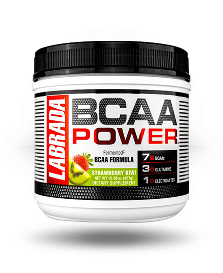 Labrada Nutrition BCAA Power Strawberry Kiwi, 30 Servings