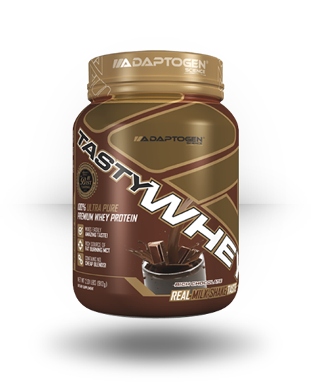 Adaptogen Science Tasty Whey Rich Chocolate, 5 lb