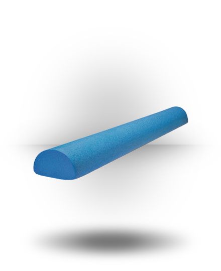 Body-Solid Half Foam Roller