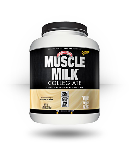 CytoSport Collegiate Muscle Milk Cookies 'N Creme 5.29 lb