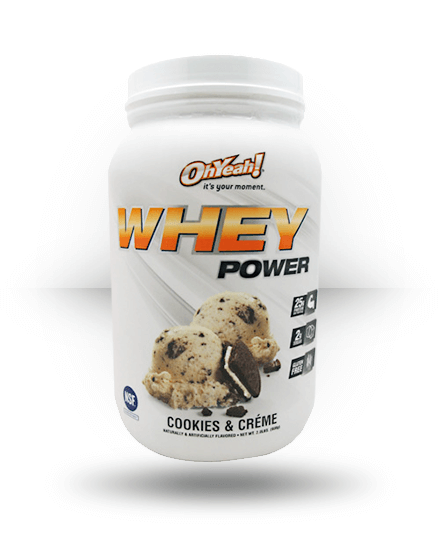 OhYeah! Whey Power Cookies & Creme 2 lb