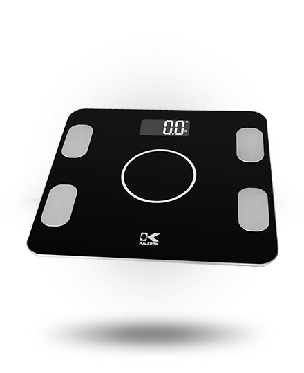 Kalorik Bluetooth Electronic Body Fat Scale Black