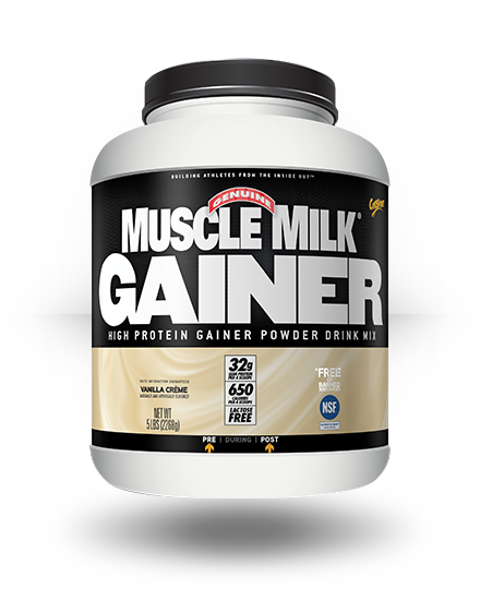 CytoSport Muscle Milk Gainer Vanilla Creme 5 lb