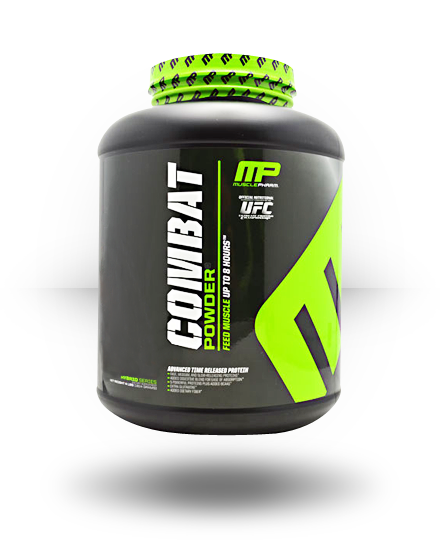 MusclePharm Hybrid Series Combat Powder Banana Cream 4 lb