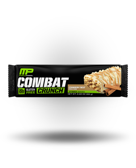 MusclePharm Combat Crunch Cinnamon Twist, 12 Bars