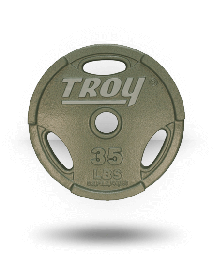Troy Barbell Machined Interlocking Grip Plate 35 lb