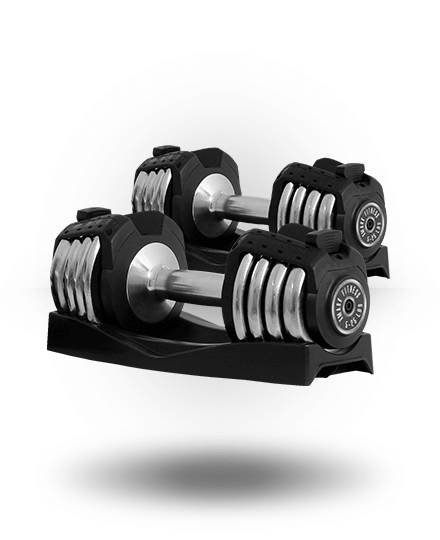 XMark Adjustable Dumbbells 25 lb (Pair) XM-3305