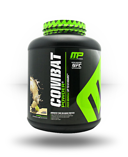MusclePharm Hybrid Series Combat Powder Vanilla 4 lb