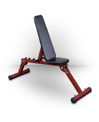 Best Fitness FID Bench Red
