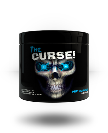 Cobra Labs The Curse Blue Raspberry Ice 50 ea