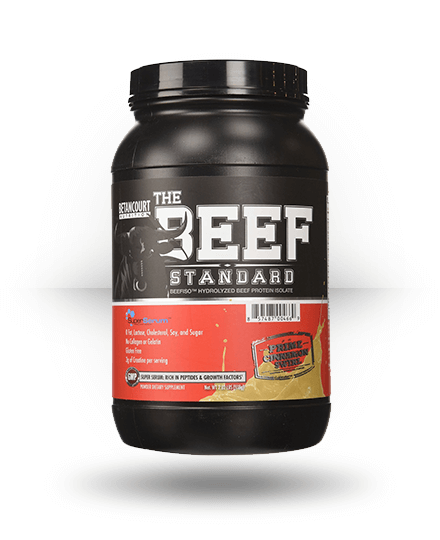 Betancourt Nutrition The Beef Standard Prime Cinnamon Swirl 28 Servings