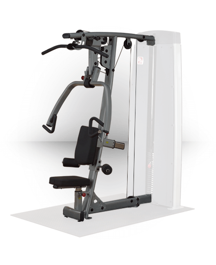 Body-Solid Pro Dual Vertical Press and Lat Station (For DGYM)