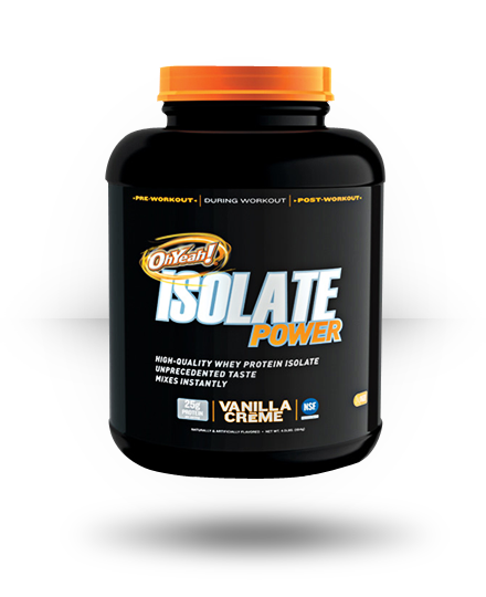 ISS OhYeah! Isolate Power Vanilla Creme 4 lb