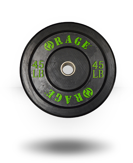 Rage Fitness Rage Pro Olympic Bumper 45 lb