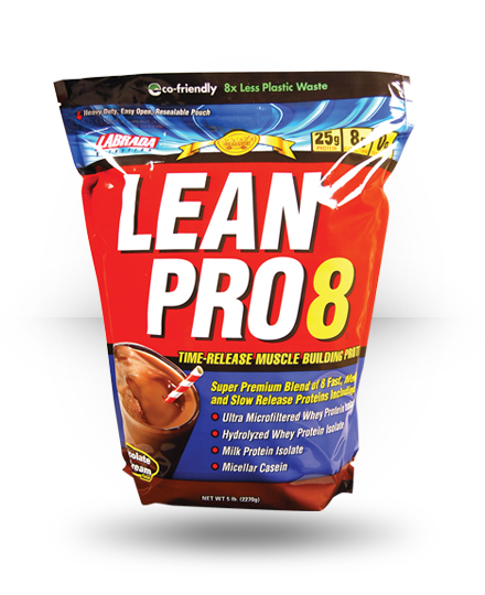 Labrada Nutrition Lean Pro8 Chocolate Ice Cream 5 lb