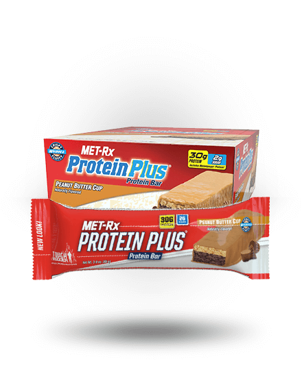 MET-Rx Protein Plus Peanut Butter Cup, 9 Bars