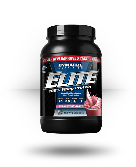 Dymatize Elite Whey Strawberry Blast 2 lb