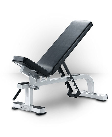 York Barbell Flat-To-Incline Bench White