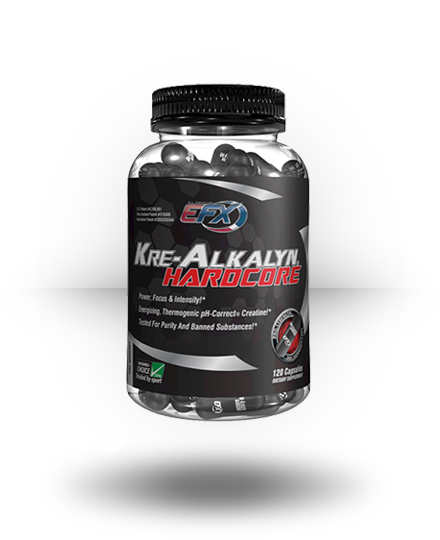 All American EFX Kre-Alkalyn Hardcore 120 ea