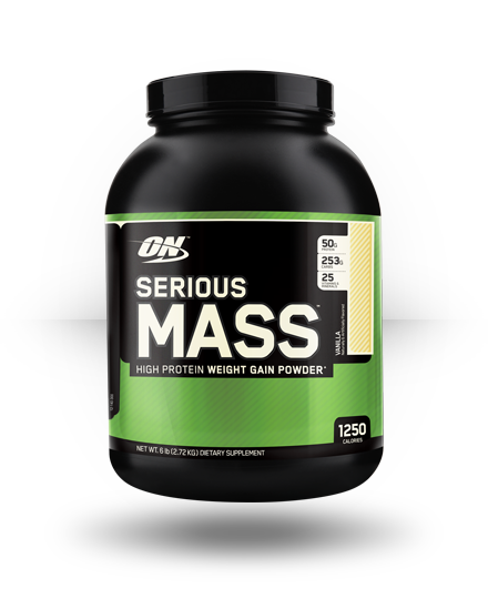 Optimum Nutrition Serious Mass Vanilla 6 lb