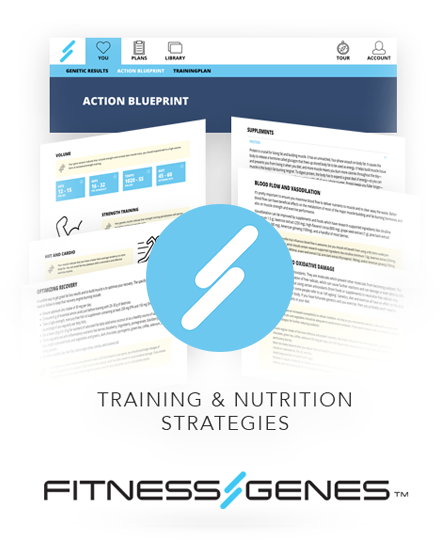 FitnessGenes GTSMB12C Genetic Muscle-Building System