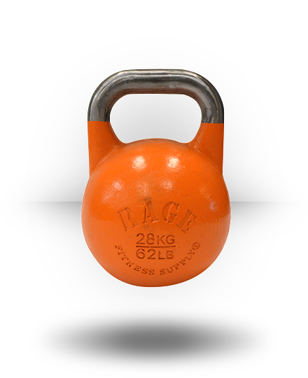 Rage Fitness Rage Competition Kettlebell 28 kg Orange