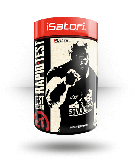 iSatori CT Fletcher Rapid-Test 63 Capsules