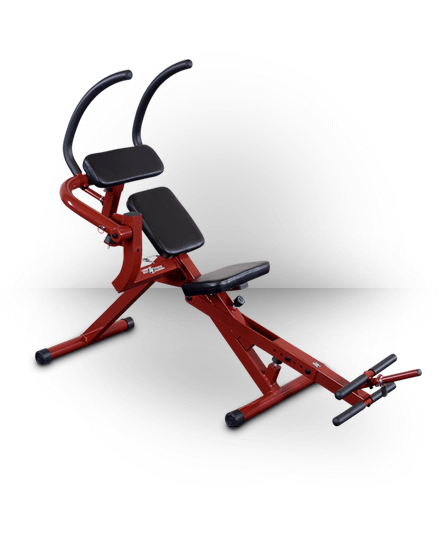 Best Fitness Semi-Recumbent Ab Bench Red BFAB20R
