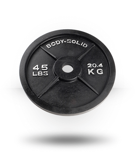Body-Solid Olympic Plate 45 lb