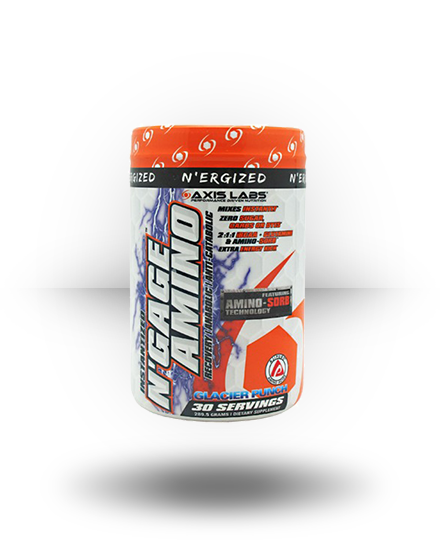 Axis Labs N'Ergized N'Gage Amino Glacier Punch 30 ea