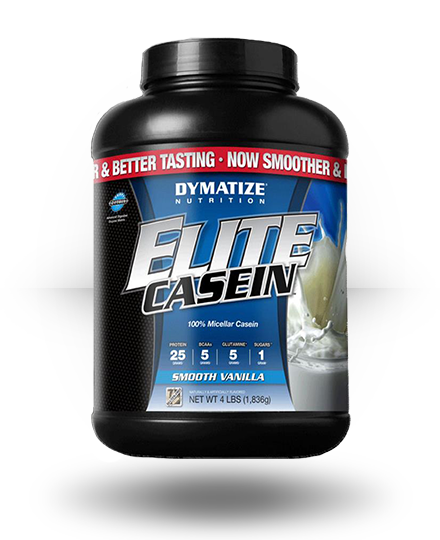 Dymatize Elite Casein Smooth Vanilla 4 lb