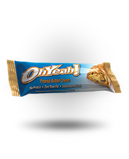 ISS OhYeah! Bar Peanut Butter Crunch 12 ea 85g