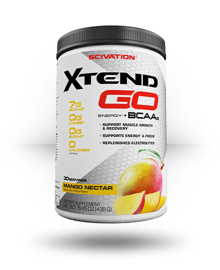 Scivation Xtend Go Mango Nectar 30 Servings