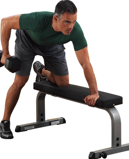Heavy-Duty Flat Bench