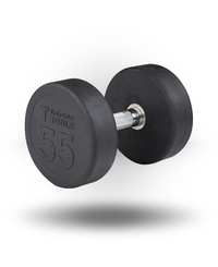 Body-Solid Rubber Pro-Style Dumbbell 55 lb