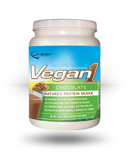 Nutrition53 Vegan1 Chocolate 1.6 lb