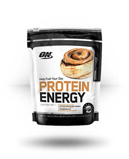 Optimum Nutrition Protein Energy Cinnamon Bun 52 ea