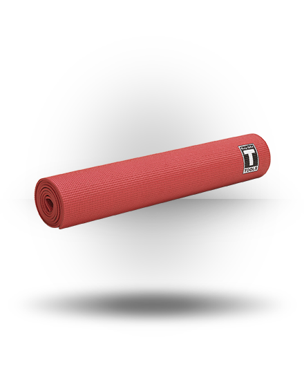 Body-Solid BSTYM5 Yoga Mat, Red 5 mm