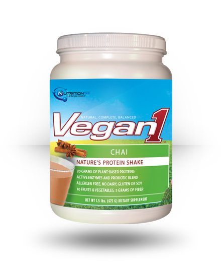 Nutrition53 Vegan1 Chai 1.5 lb