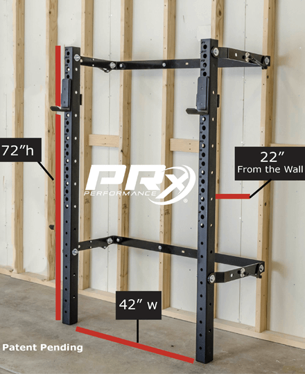 3x3 Profile Squat Rack Pro