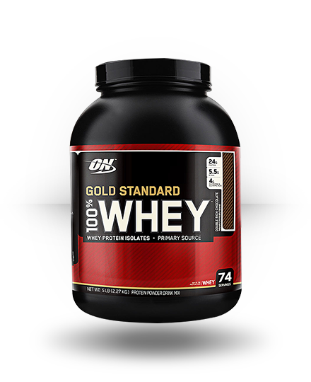 Optimum Nutrition Gold Standard 100% Whey Strawberry Banana 5 lb