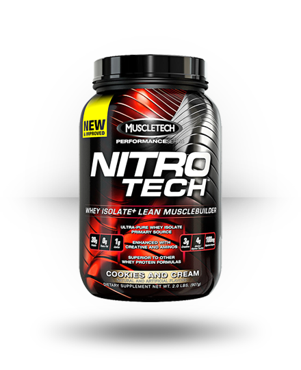 MuscleTech Nitro-Tech Cookies and Cream 21 Servings
