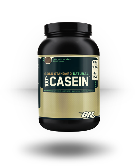 Optimum Nutrition Gold Standard Natural 100% Casein Chocolate Creme