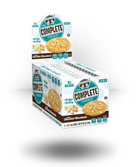 Lenny & Larry's All-Natural Complete Cookie White Chocolate Macada